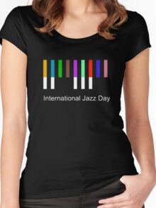 International Jazz Day Women's Fitted Scoop T-Shirt