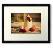 Summer Cider - Still Life Framed Print