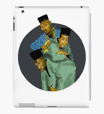 Big Daddy Kane w/Scoob & Scrap iPad Case/Skin