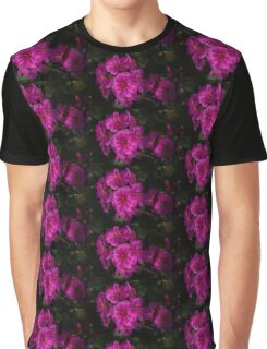 Silky Pink Cactus Blooms Graphic T-Shirt