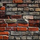 Beautiful Old Brick Wall by marybedy