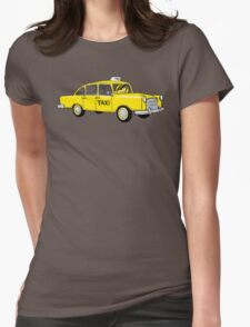 Betta Taxi Womens Fitted T-Shirt