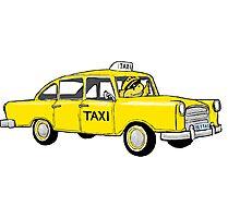 Betta Taxi Photographic Print