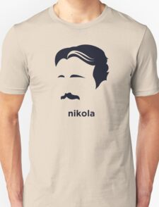 Nikola Tesla (Hirsute History) T-Shirt
