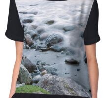 Wreck Beach shoreline 1 Chiffon Top