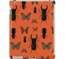 Orange bugs iPad Case/Skin
