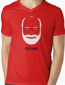 Oliver Sacks (Hirsute History) Mens V-Neck T-Shirt