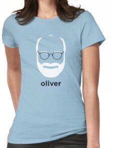 Oliver Sacks (Hirsute History) Womens Fitted T-Shirt