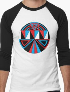 The Abstraction of my Mind #1 Men's Baseball ¾ T-Shirt