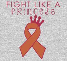 Fight Like a Princess - Orange One Piece - Short Sleeve