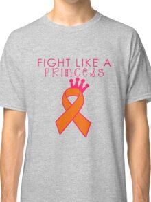 Fight Like a Princess - Orange Classic T-Shirt