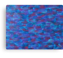 Air, Fire And A Love Lost - Acrylic Painting Canvas Print
