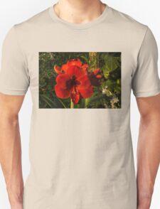 Red Velvet in the Garden  Unisex T-Shirt