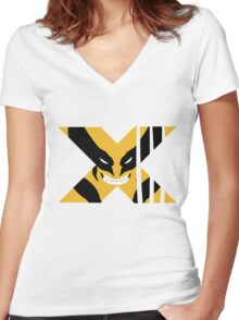 Wolverine X Women's Fitted V-Neck T-Shirt