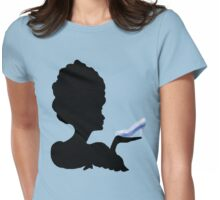 Cinderella Silhouette  Womens Fitted T-Shirt