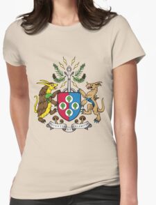 Denjuu World Coat of Arms Womens Fitted T-Shirt