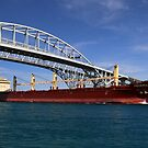 Federal Wesser and Blue Water Bridge by marybedy