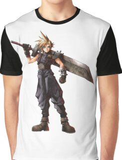 Final Fantasy VII - Cloud  Graphic T-Shirt