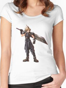 Final Fantasy VII - Cloud  Women's Fitted Scoop T-Shirt
