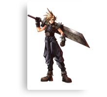 Final Fantasy VII - Cloud  Canvas Print