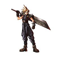 Final Fantasy VII - Cloud  Photographic Print