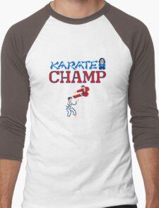 Karate Champ Retro Videogame Men's Baseball ¾ T-Shirt