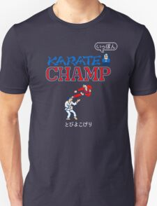 Karate Champ Retro Videogame Unisex T-Shirt