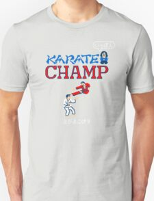 Karate Champ Retro Videogame Unisex T-Shirt