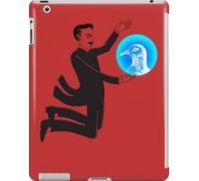Tesla and the Pigeon iPad Case/Skin