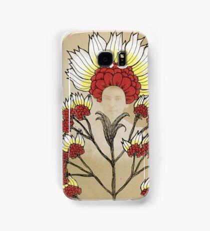 Red Flowers Bride Samsung Galaxy Case/Skin