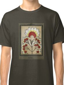 Red Flowers Bride Classic T-Shirt