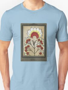 Red Flowers Bride Unisex T-Shirt