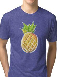 Pastel Pineapple Tri-blend T-Shirt