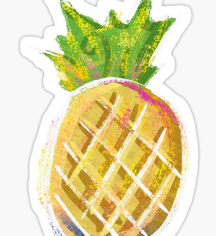 Pastel Pineapple Sticker