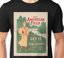 Artist Posters The American field get it of newsdealers published weekly price 10 cents July 1896 0612 Unisex T-Shirt