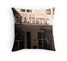 Miami Beach - Art Deco Throw Pillow