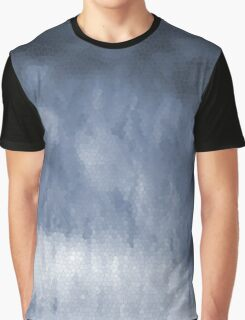 Silver Stain Glass Look Graphic T-Shirt