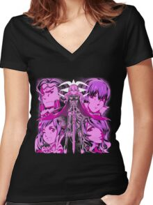 Conquest Fate Women's Fitted V-Neck T-Shirt