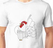 Cartoon Serama (Blank) Unisex T-Shirt