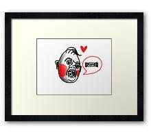 Goodies Tattoo Art- Sloth Framed Print