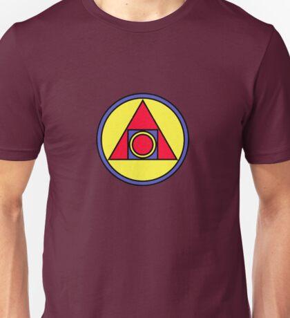 philosopher's stone sacred symbols Unisex T-Shirt