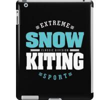 Snowkiting Extreme Sport iPad Case/Skin