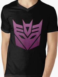 Decepticon Mens V-Neck T-Shirt