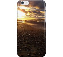 Stormy Superior Sunset iPhone Case/Skin
