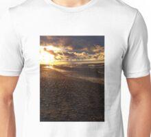 Stormy Superior Sunset Unisex T-Shirt