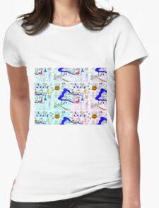 El Salvador Womens Fitted T-Shirt