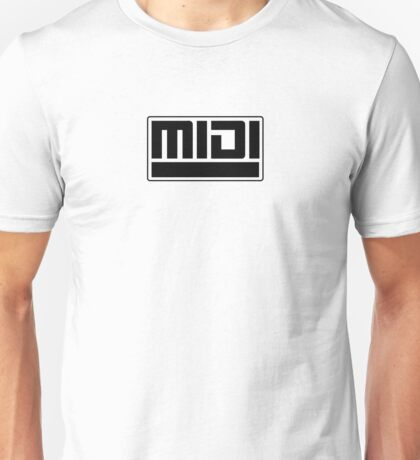 MIDI - Musical Instrument Digital Interface Unisex T-Shirt