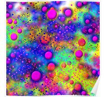 Colour Fizz Sizzle Poster