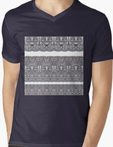 Tribal Corset  Mens V-Neck T-Shirt