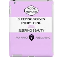 Sleeping Beauty Memoir iPad Case/Skin